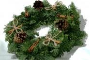 Kalėdinis vainikas su cinamonu (KV06)